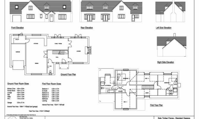 Bedroom Bungalow House Plans
