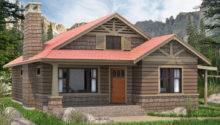 Bedroom Cabin Cottage Plans Render