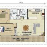 Bedroom Guest House Floor Plans Homes Pinterest