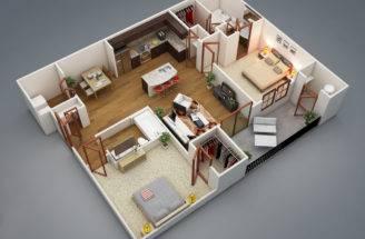 Bedroom House Plan