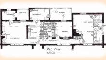 Bedroom House Plans Small Spacious Floor Two