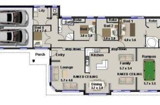 Bedroom Narrow Lot House Plan Timber Framed Homes