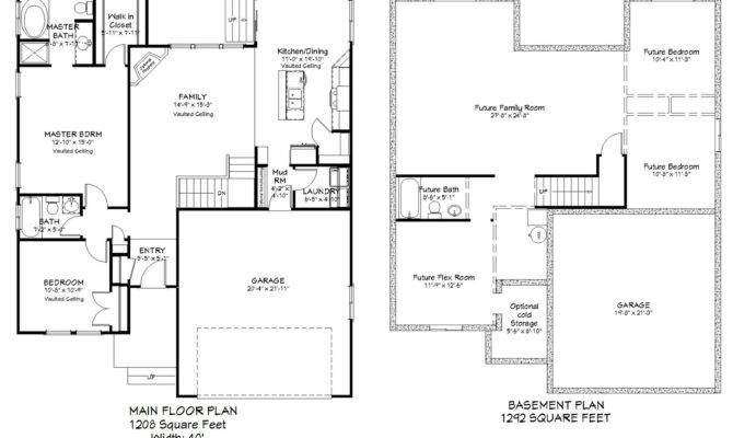 Bedroom Rambler Floor Plans