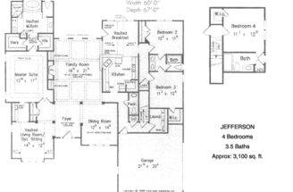 Bedroom Ranch House Plans Interior Home Design