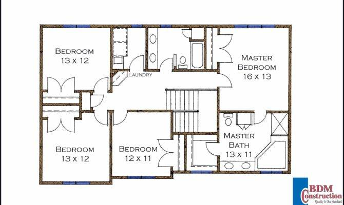 Bedroom Walk Closet Floor Plan Second Model Home