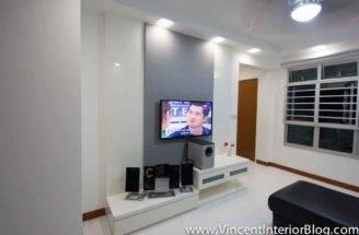 Behome Design Concept Sengkang Room Hdb Living
