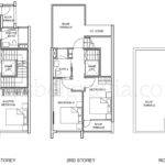 Belgravia Villas Floor Plans Semi Detached Upper Levels