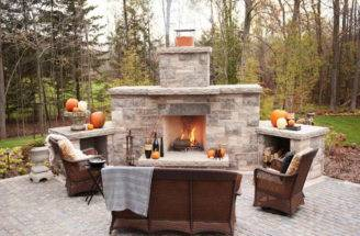 Best Outdoor Fireplace Plans Designs