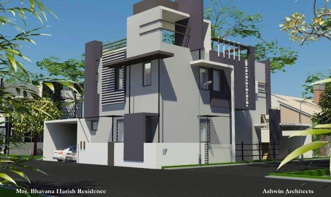 Bhavana Independent House Design Architecture Firm Bangalore