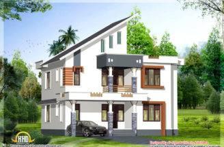 Bhk Contemporary Kerala Home Design May