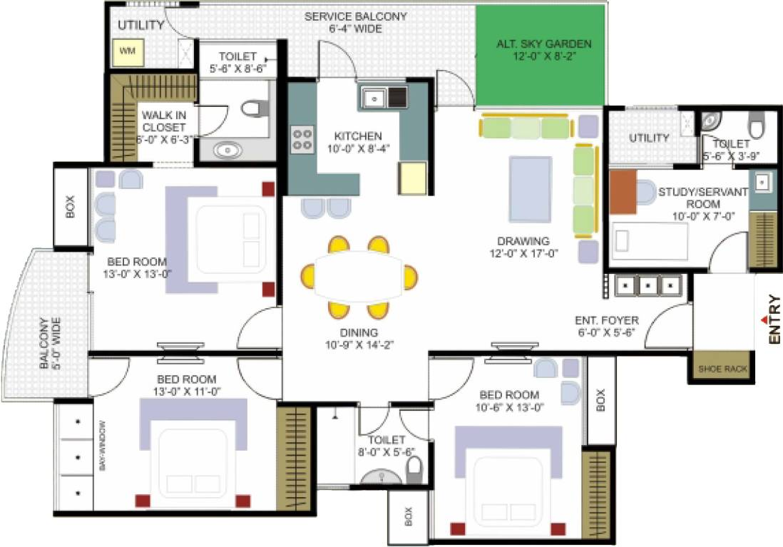 Big House Floor Plan Designs Plans - Home Plans & Blueprints #45705 - ^