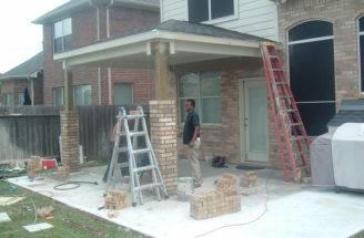Brick Columns Building Tips Build House