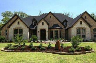 Brick Stone Combinations Homes Stucco Exterior