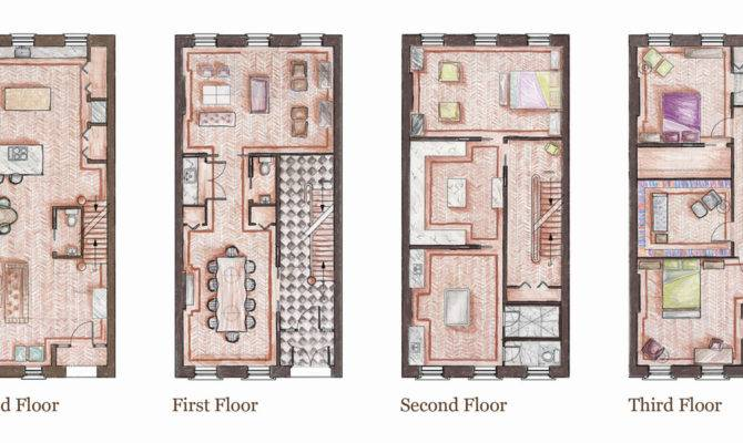 Brownstone House Plans Modern