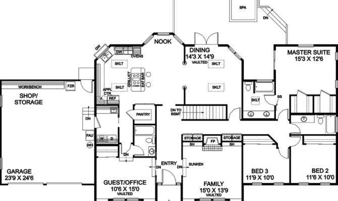 Brownstone Luxury European Home Plan House Plans More