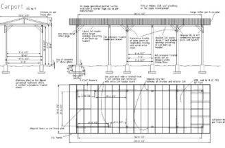 Build Carport Garage Carports Designs Plans