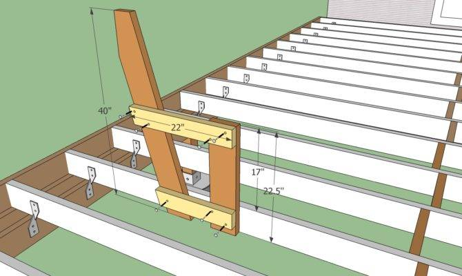 Build Deck Ground Howtospecialist