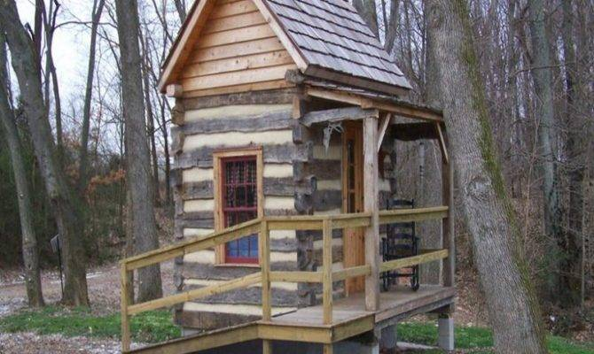 Build Log Cabin Building Materials