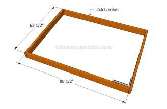 Build Simple Bed Frame Howtospecialist Step
