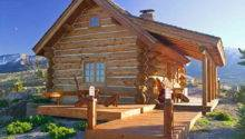 Build Small Log Cabin Kits Montana Favorite