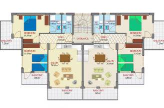 Building Design Ideas Apartment Blueprints