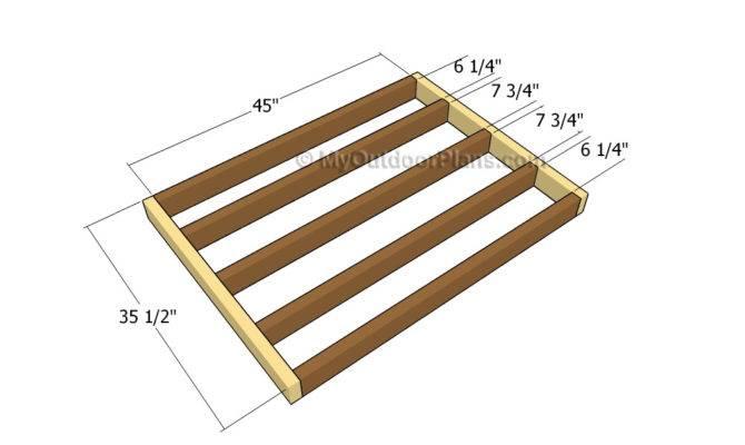 Building Floor Frame