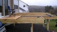 Building Freestanding Deck Dealing Voles