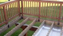 Building Shed Build Roof Within Joists Deck