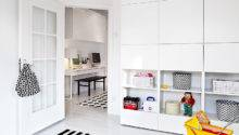 Built Storage Study Interior Design Ideas