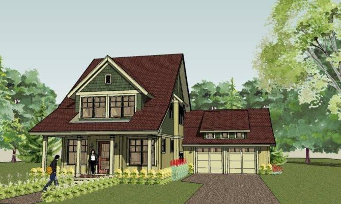Bungalow Cottage Plans Floor