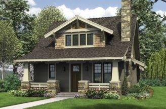 Bungalow Homes Pinterest Plans Craftsman