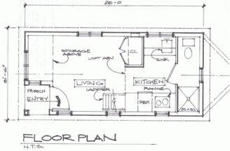 Bungalow House Plans Floor Small Houses Usually