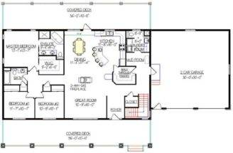 Bungalow Walkout Basement Plan Really Like Garage