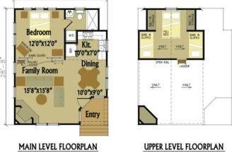 Cabin Designs Floor Plans
