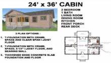 Cabin Floor Plans Small House Second Sun