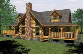 Cabin Furniture Log Home Kits Sale