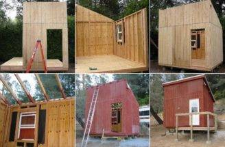Cabin Ideas Cheap Cool Wood Project Plans Diy Plandlbuild