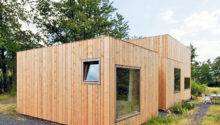 Cabin Like Home Belgium Has Different Facades Architecture