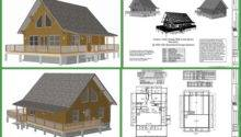 Cabin Plan Custom Design Crawl Space