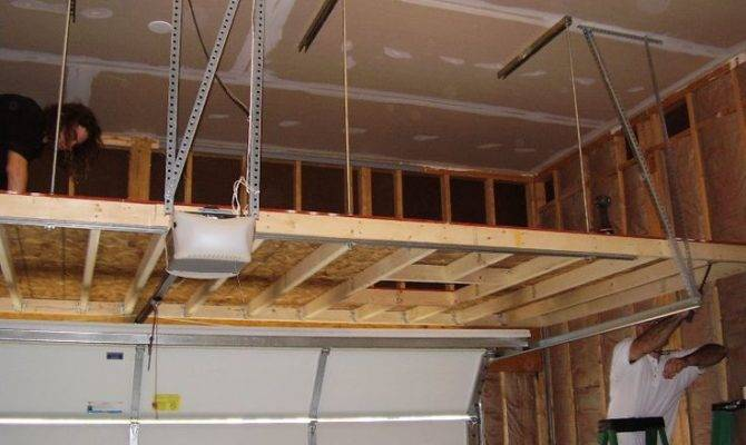 Can Support Loft Overhead Garage Answer