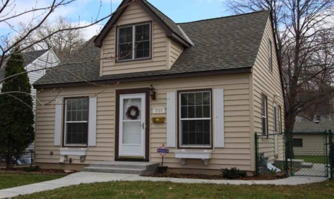 Cape Cod Style Home House Original Half