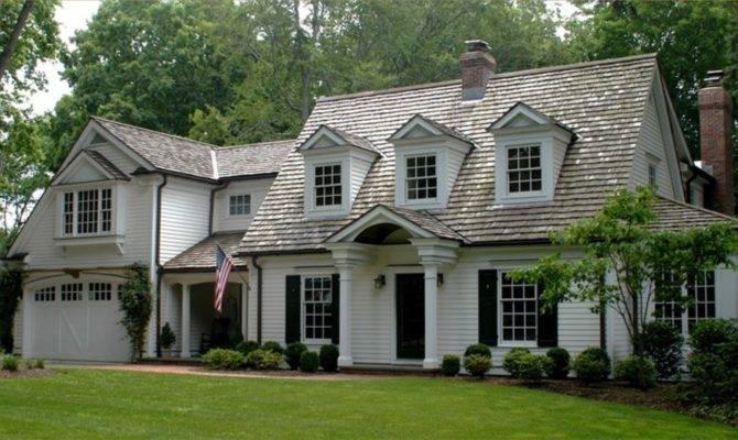 Cape Cod Style House Houses