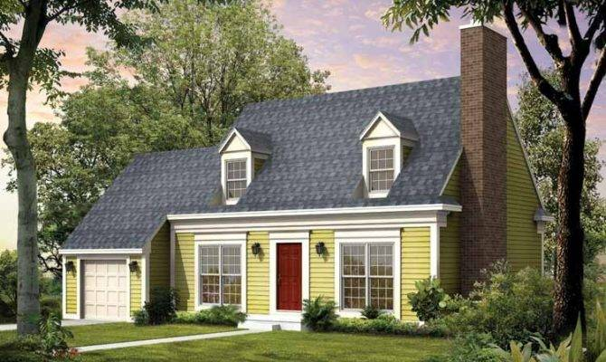 Cape Cod Style House Plan Colonial Days