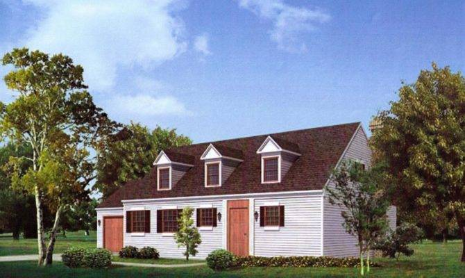Cape Cod Style House Plans Plan Colonial Days