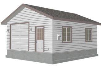 Car Detached Garage Plans Plan Custom