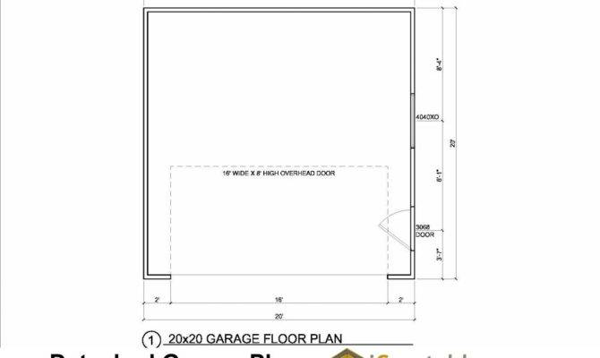 Car Door Garage Floor Plan