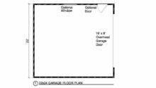 Car Door Garage Floor Plan