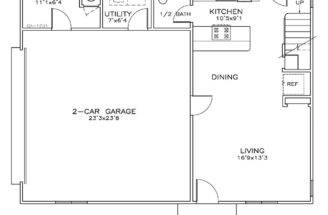 Car Garage Apartment Plan