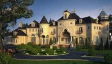 Castle Luxury House Plans Manors Chateaux Palaces European