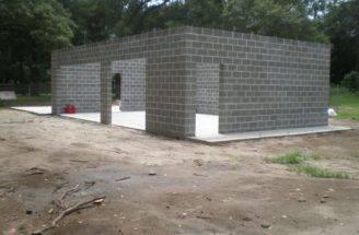 Charleston Modern Progress Concrete Cinderblock